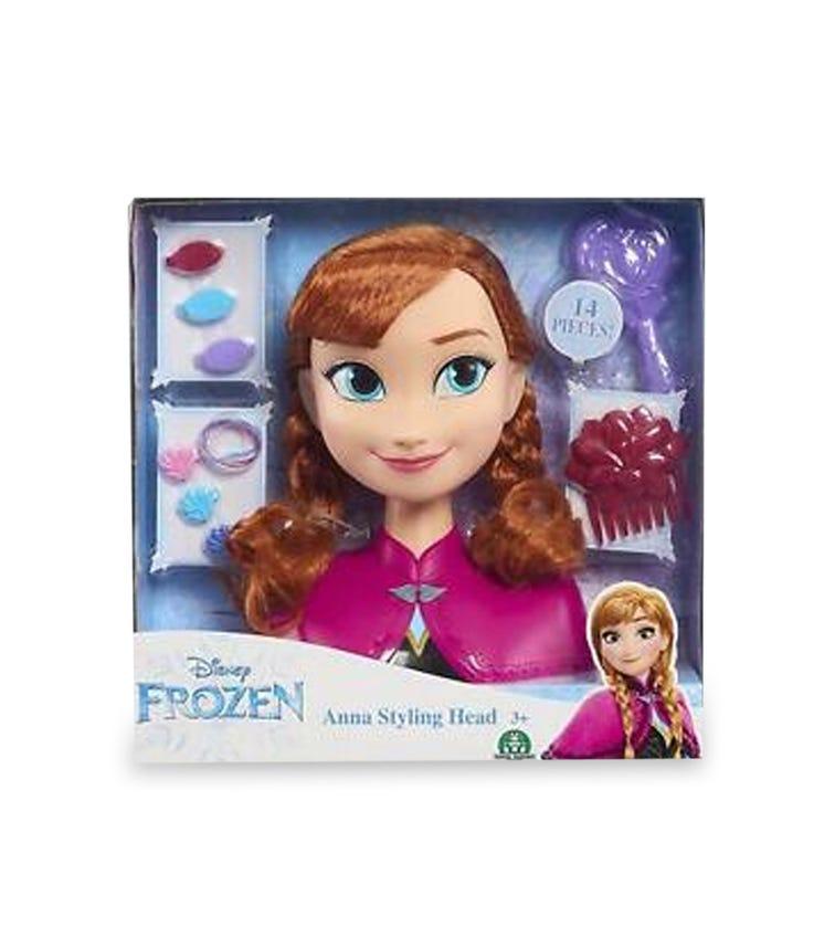DISNEY FROZEN Styling Head - Anna