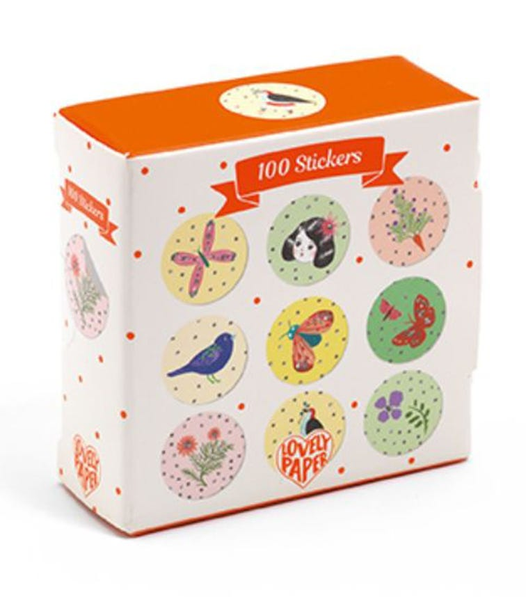 DJECO 100 Chichi Stickers