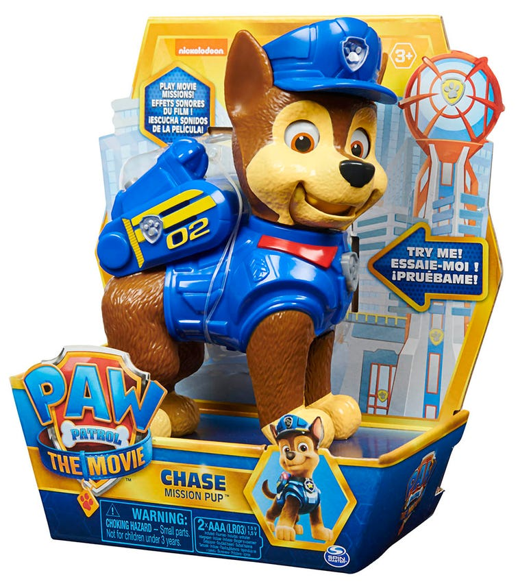 PAW PATROL Movie Interactive Character Figures (Assorted)