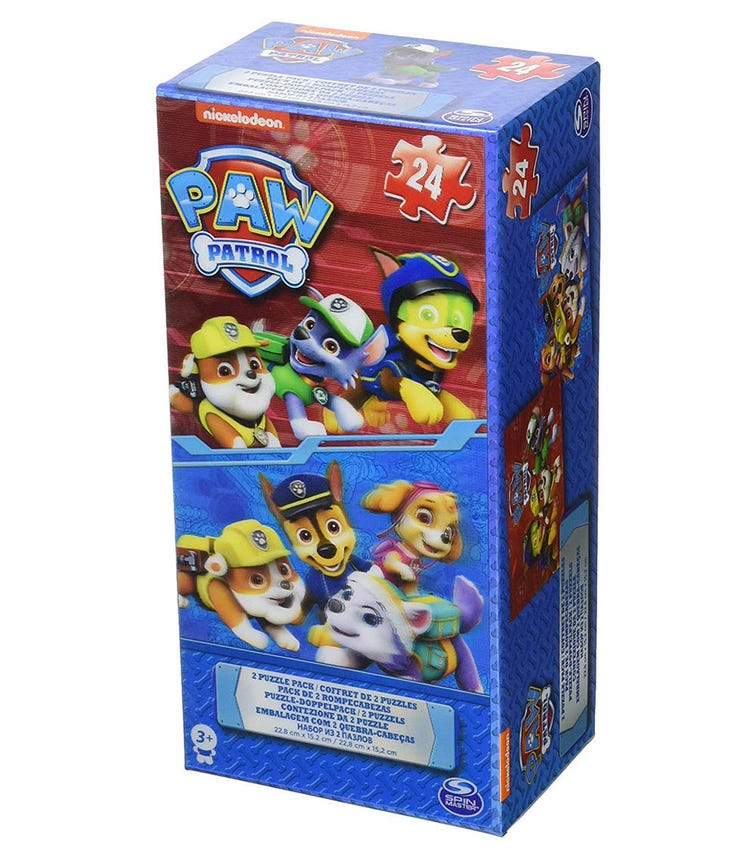 PAW PATROL Lenticular-Effect Tower Puzzle Box