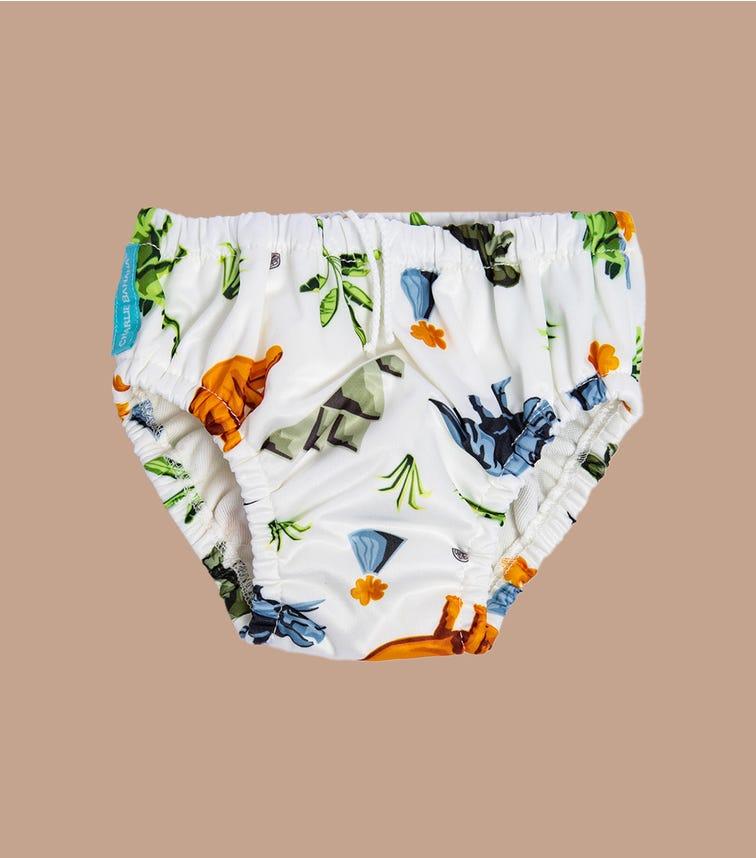 CHARLIE BANANA Reusable Swim Diaper - Dinosaurs