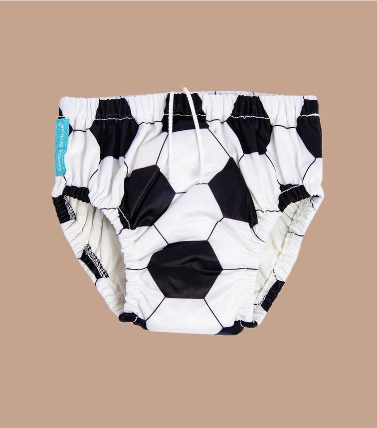 CHARLIE BANANA 2 In 1 Swim Diaper Training Pants - Soccer