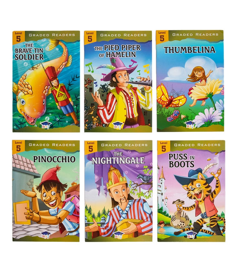 HOME APPLIED TRAINING Level 5 - 6 Story Books Set