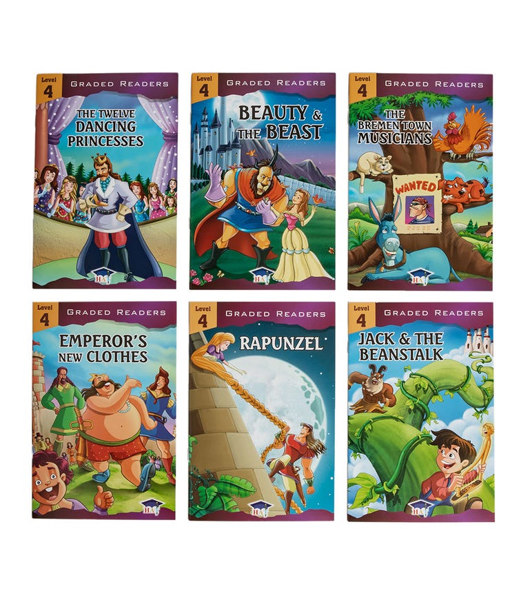 HOME APPLIED TRAINING Level 4 - 6 Story Books Set