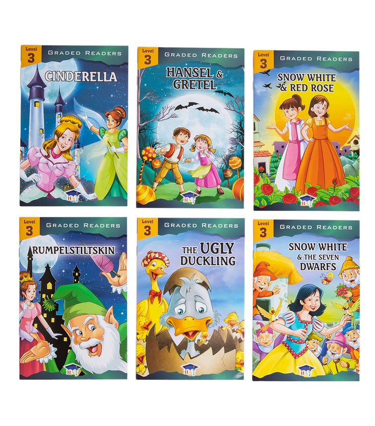 HOME APPLIED TRAINING Level 3 - 6 Story Books Set
