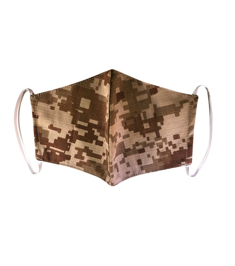 PIKKABOO Washable Mask For Adults - Camouflage