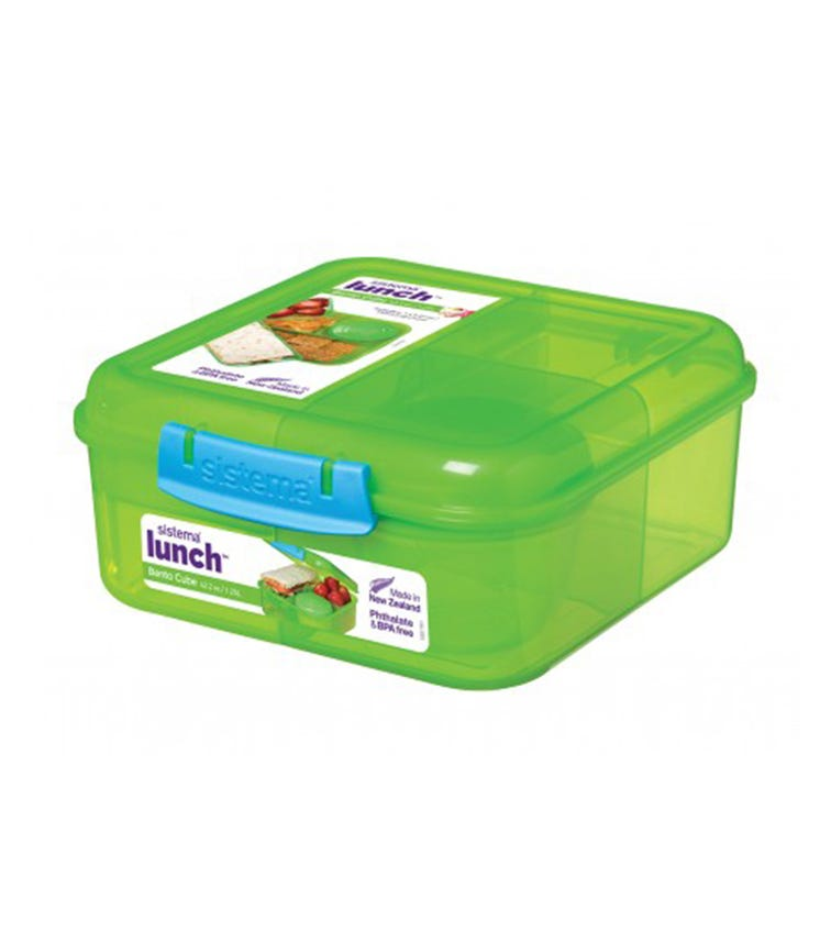 SISTEMA Bento Cube Lunch Box (Assorted)