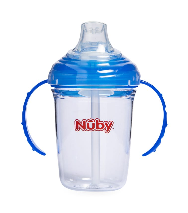 NUBY Twin Handle Soft Spout Cup Made With Tritan