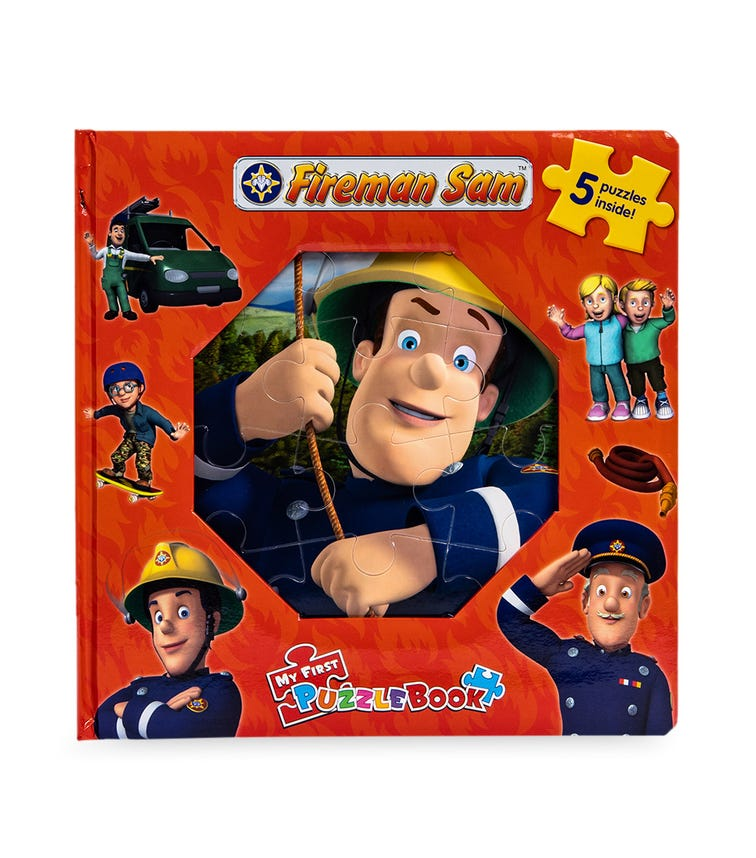 PHIDAL Fireman Sam # 2 My First Puzzle Book
