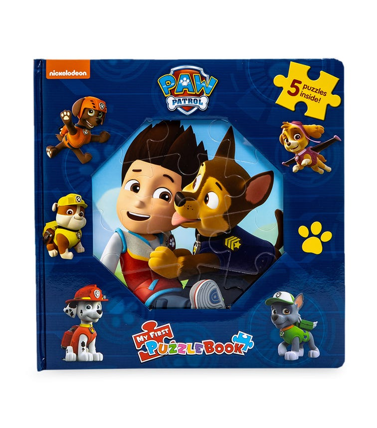 PHIDAL Paw Patrol My First Puzzle Book