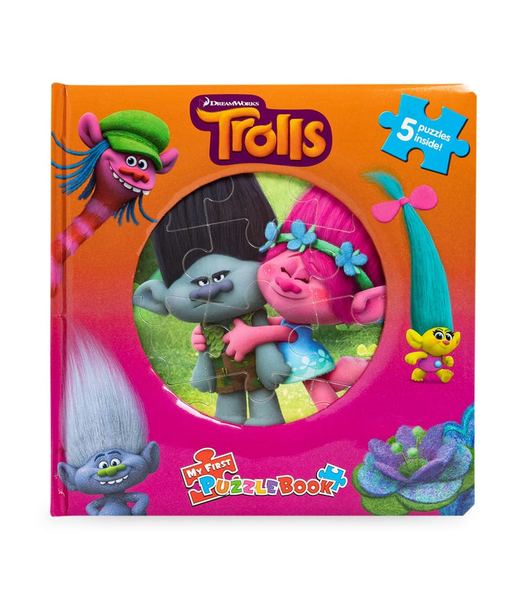 PHIDAL Dreamworks Trolls My First Puzzle Book