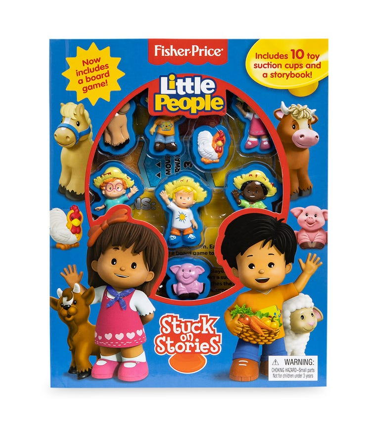 PHIDAL Fisher Price Little People Stuck On Stories