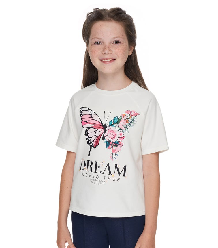 CHOUPETTE Butterfly Printed T-Shirt