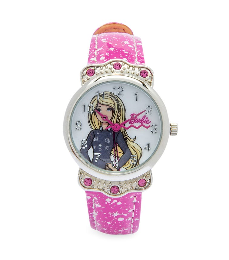 Barbie Starry Character Class Analog Watch - Kitty Sweater