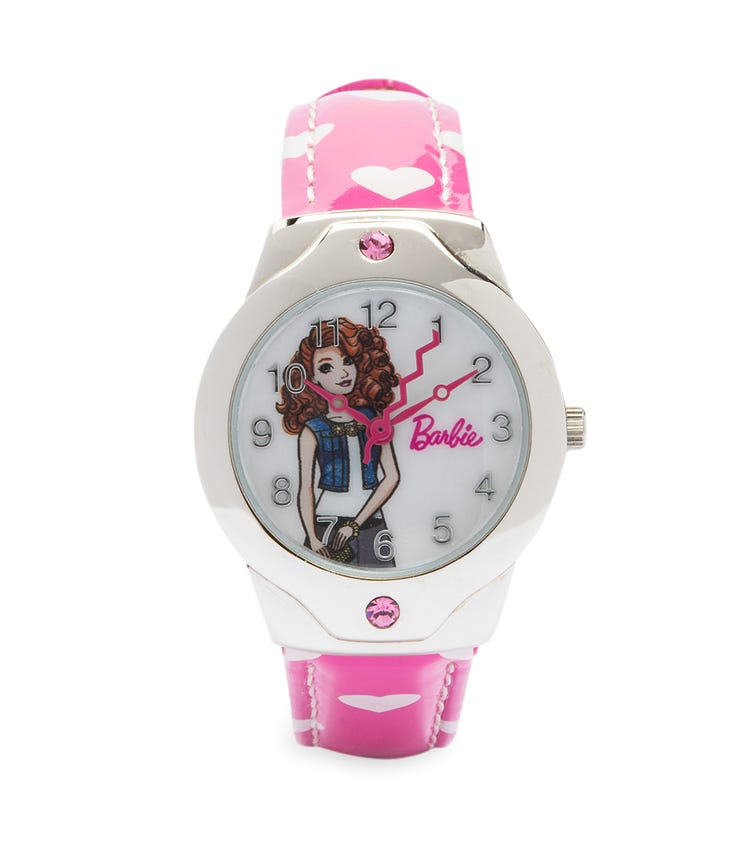 Barbie Hearty Character Class Analog Watch - Curly Cutie