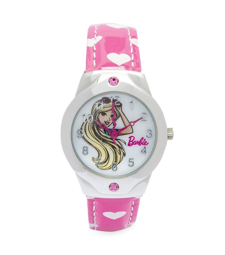 Barbie Hearty Character Class Analog Watch - Blonde Braids