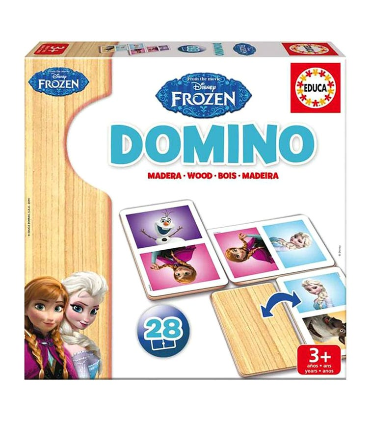 EDUCA Domino Frozen Theme 28 Pieces