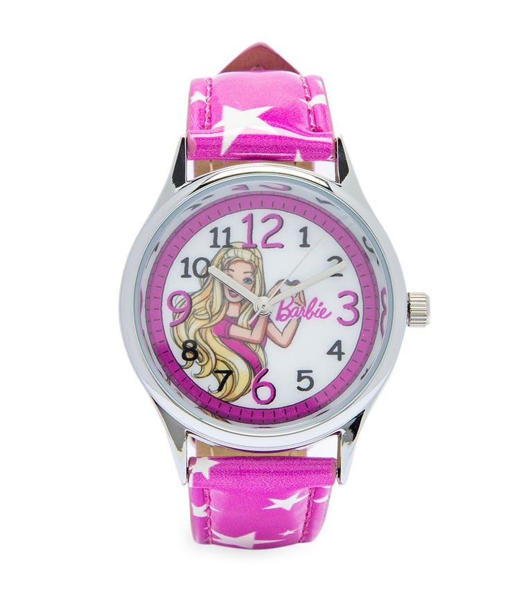 Barbie Cool Strapped Class Analog Watch - Stars