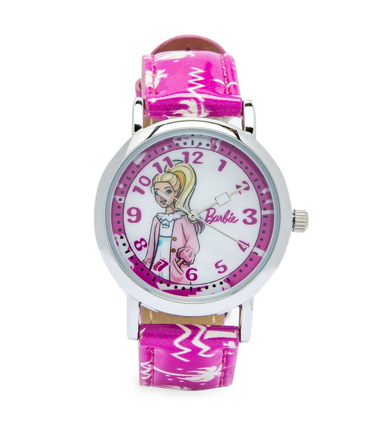 Barbie Cool Strapped Class Analog Watch - Tropic
