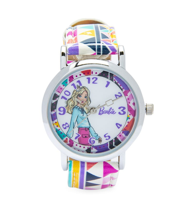 Barbie Cool Strapped Class Analog Watch - Triangles