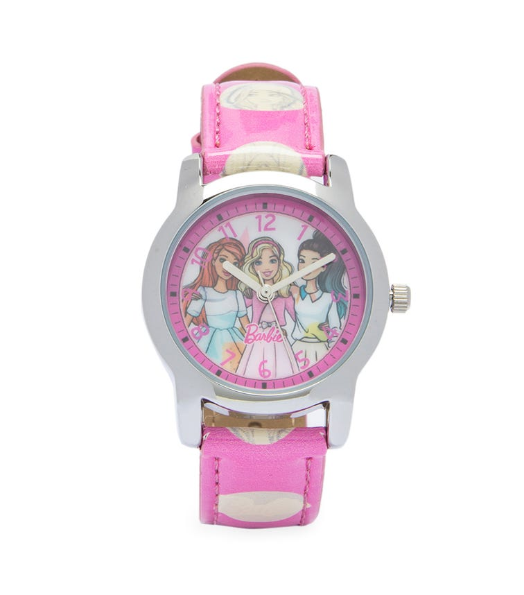 Barbie Cool Strapped Class Analog Watch - Dots