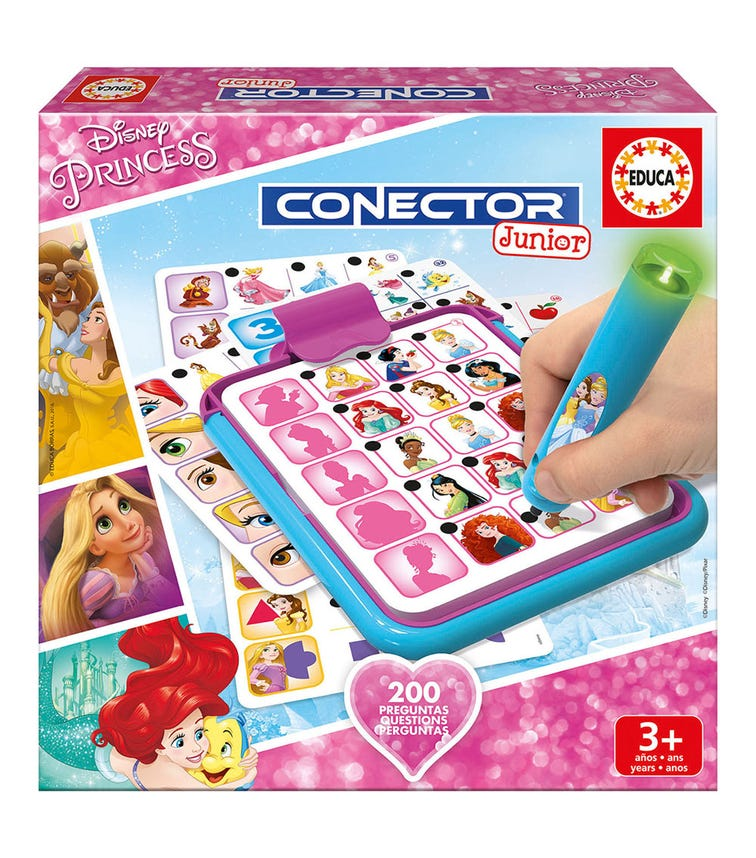 EDUCA Connector Jr Disney Princess 200 Questions