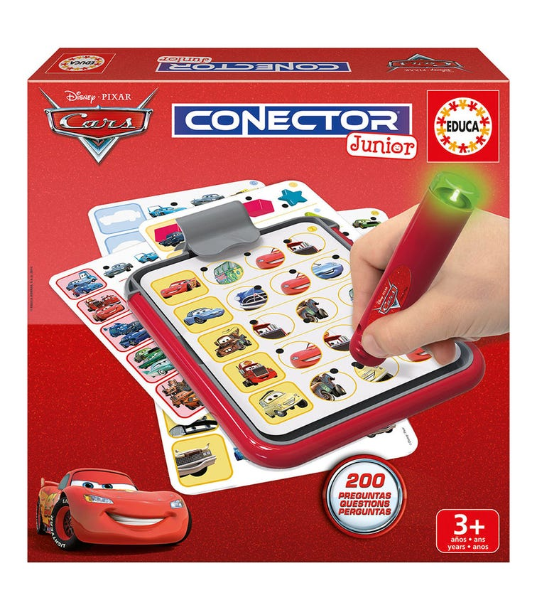 EDUCA Connector Junior Cars 40 Sheets
