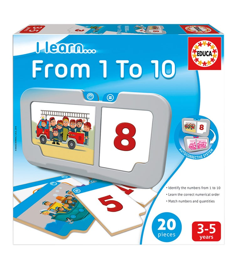 EDUCA I Learn From 1-10 20 Pieces