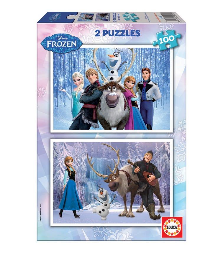 EDUCA Disney Frozen 2X100 Pieces