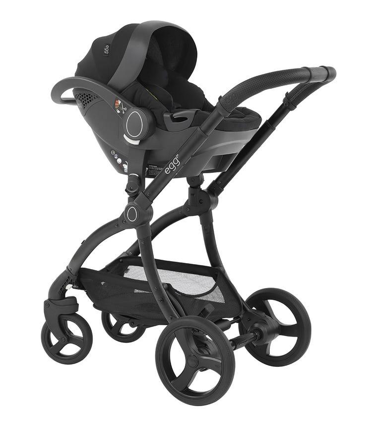 EGG Infant I-Size Car Seat - Just Black