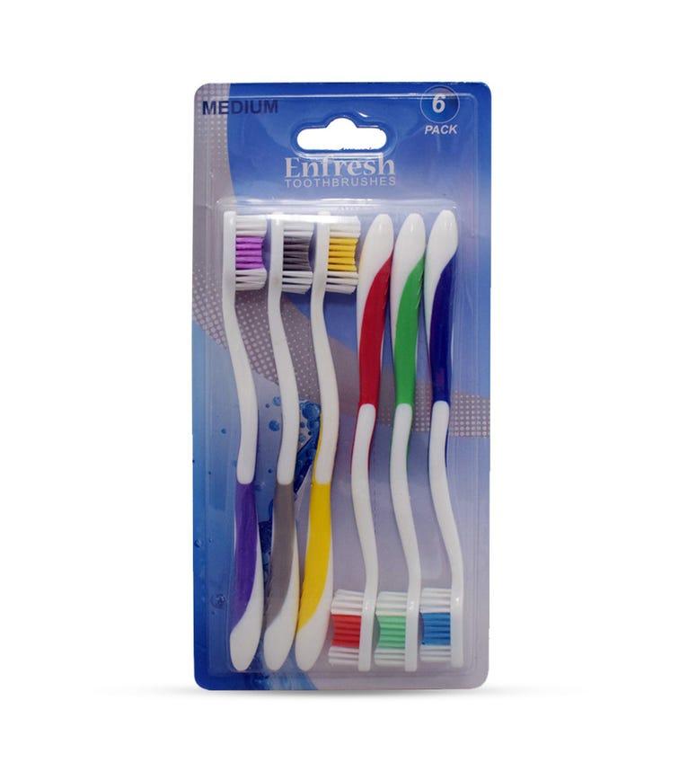 ENFRESH Toothbrush 6 Piece