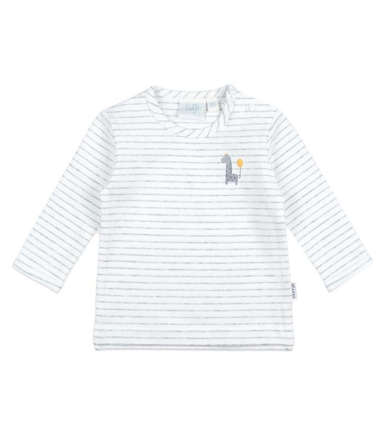 FEETJE Long-Sleeved Stripe T-shirt - Giraffe