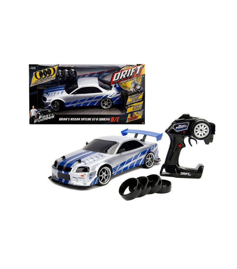 JADA Fast & Furious RC - Nissan Skyline Gtr 1:10