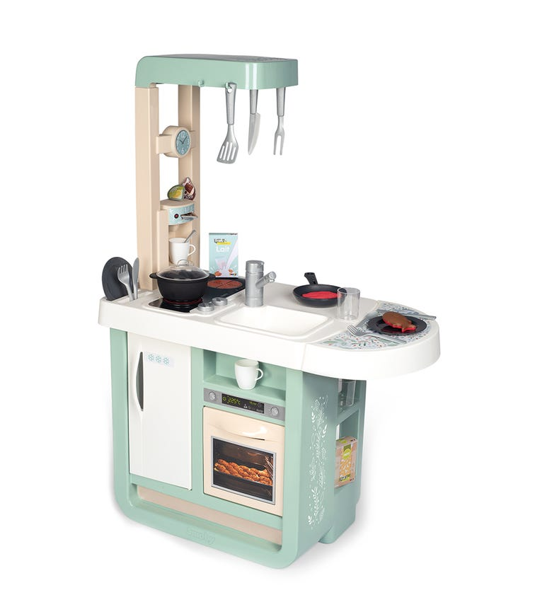 SMOBY Cherry Kitchen With 25 Accessories