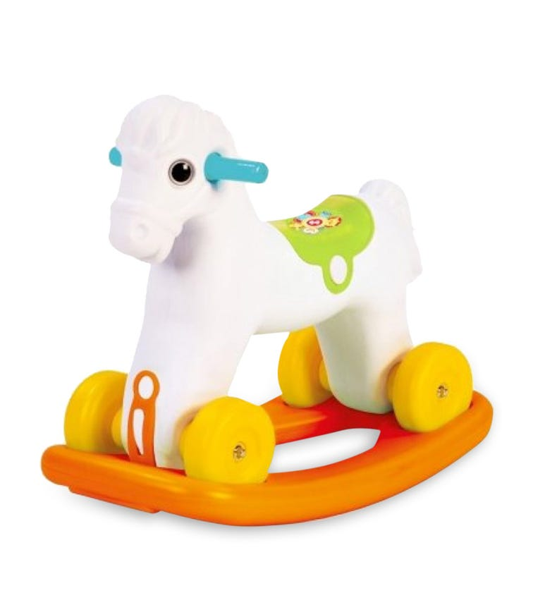 FISHER PRICE Rocking Horse With Wheel In Box