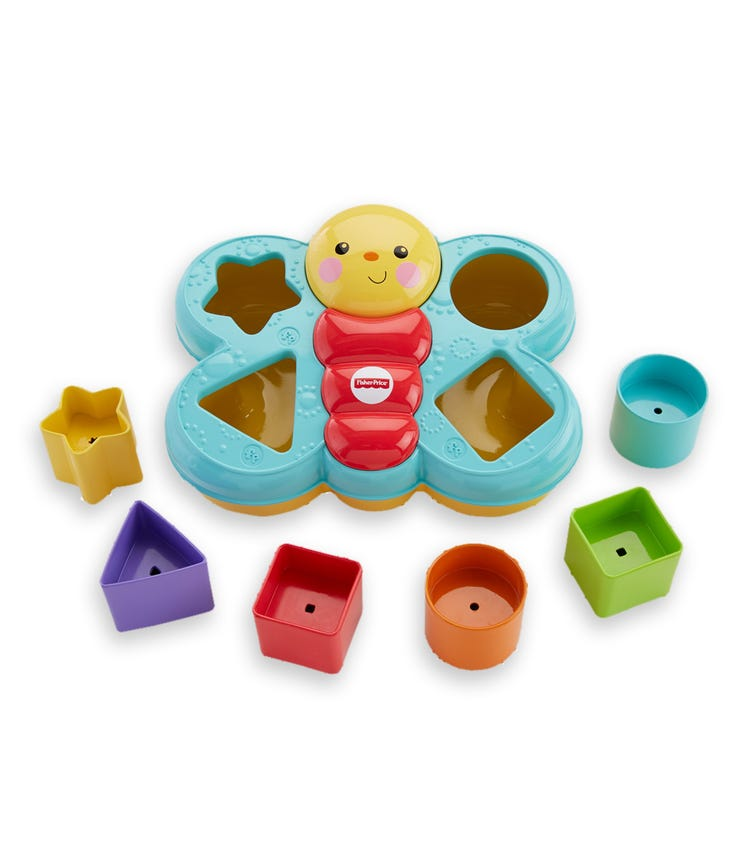 FISHER PRICE Core Butterfly Shape Sorter