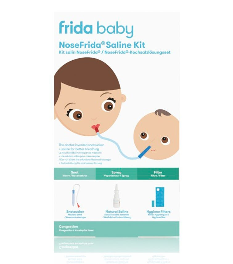 FRIDA NoseFrida Snotsucker Saline Kit