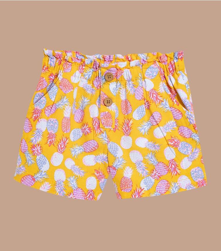 OSHKOSH Pineapple Linen Shorts