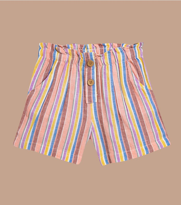 OSHKOSH Striped Linen Shorts