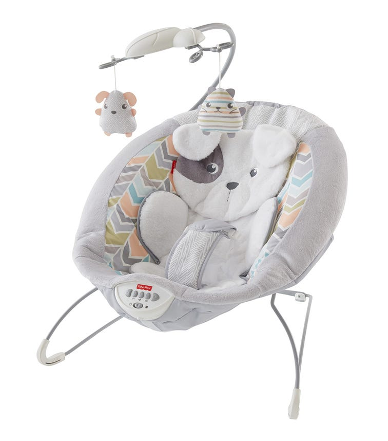 MATTEL Fisher Price Sweet Snug-A-Puppy Deluxe Bouncer