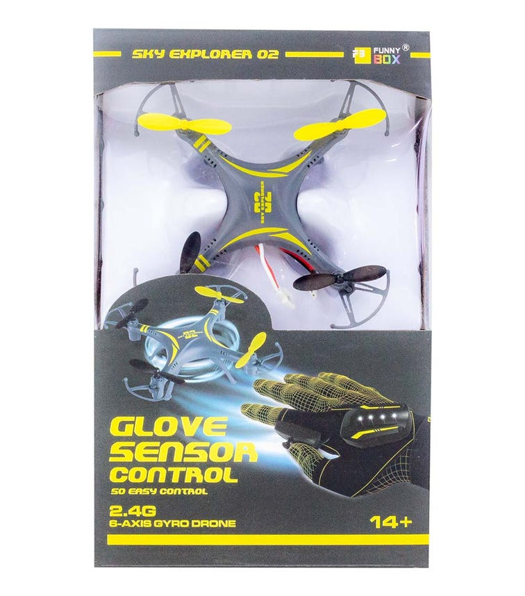 FUNNY BOX 24G Glove Hand Sensor Drone