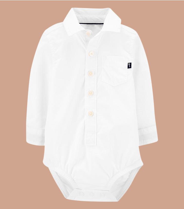OSHKOSH Button-Front Bodysuit
