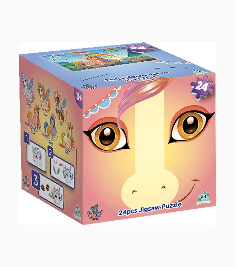 PUZZLEHEADZ Unicorn Box 24 Pieces (Assorted)