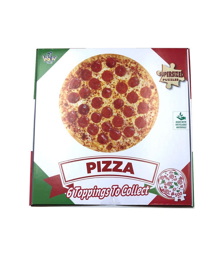 SUPERSIZED PUZZLES Pizza Pepperoni 300 Pieces
