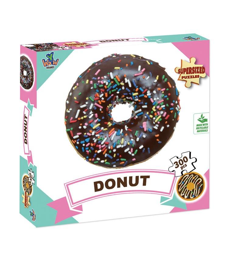 SUPERSIZED PUZZLES Donut Black 300 Pieces