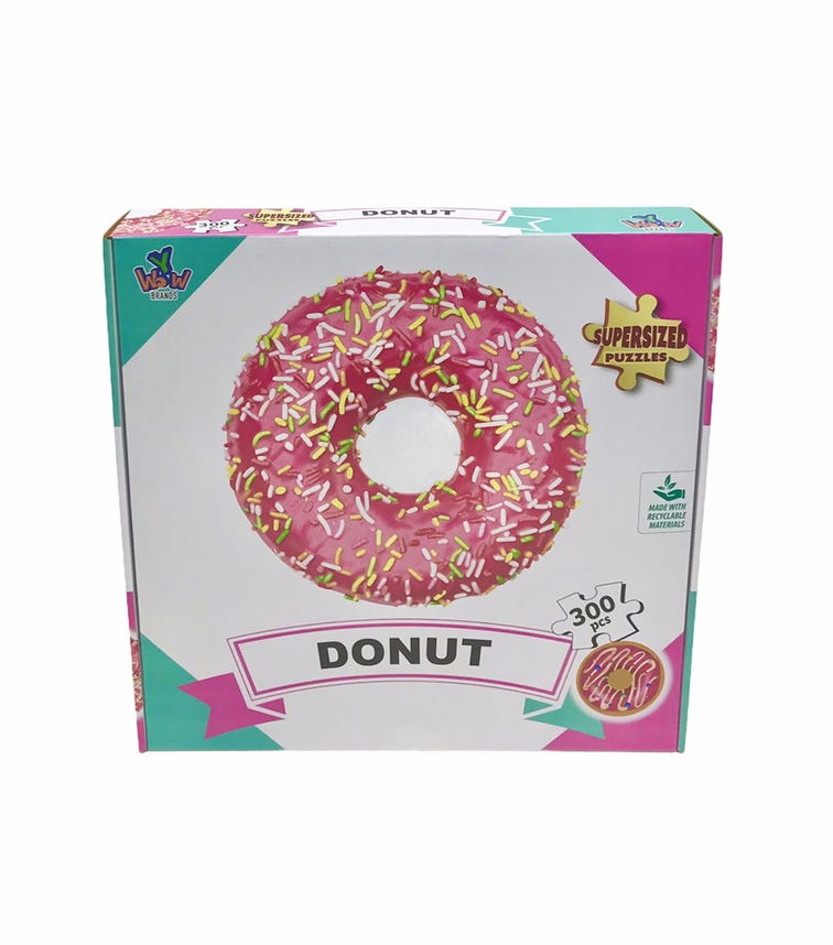 SUPERSIZED PUZZLES Donut Pink 300 Pieces