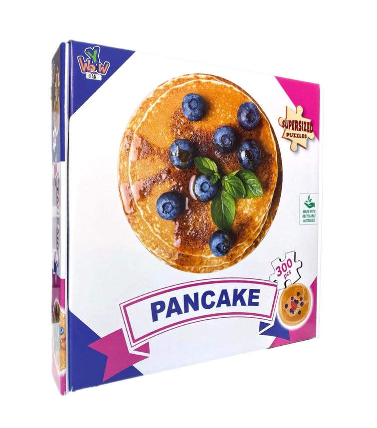 SUPERSIZED PUZZLES Pancake Blueberry 300 Pieces