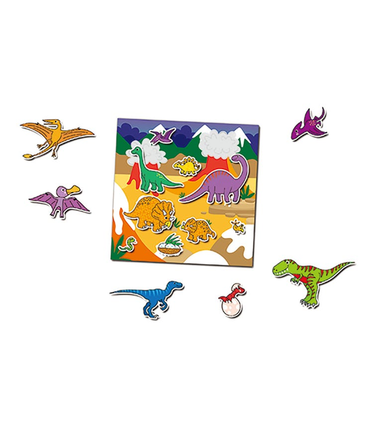 GALT Reusable Sticker Book Dinosaurs Kids Activity Book