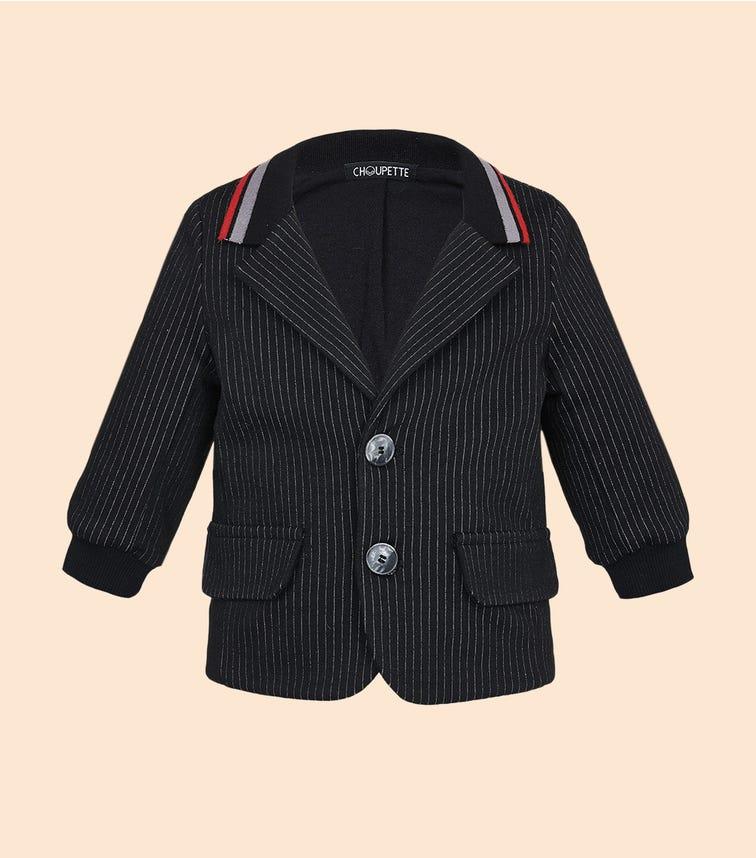 CHOUPETTE Soft Striped Blazer