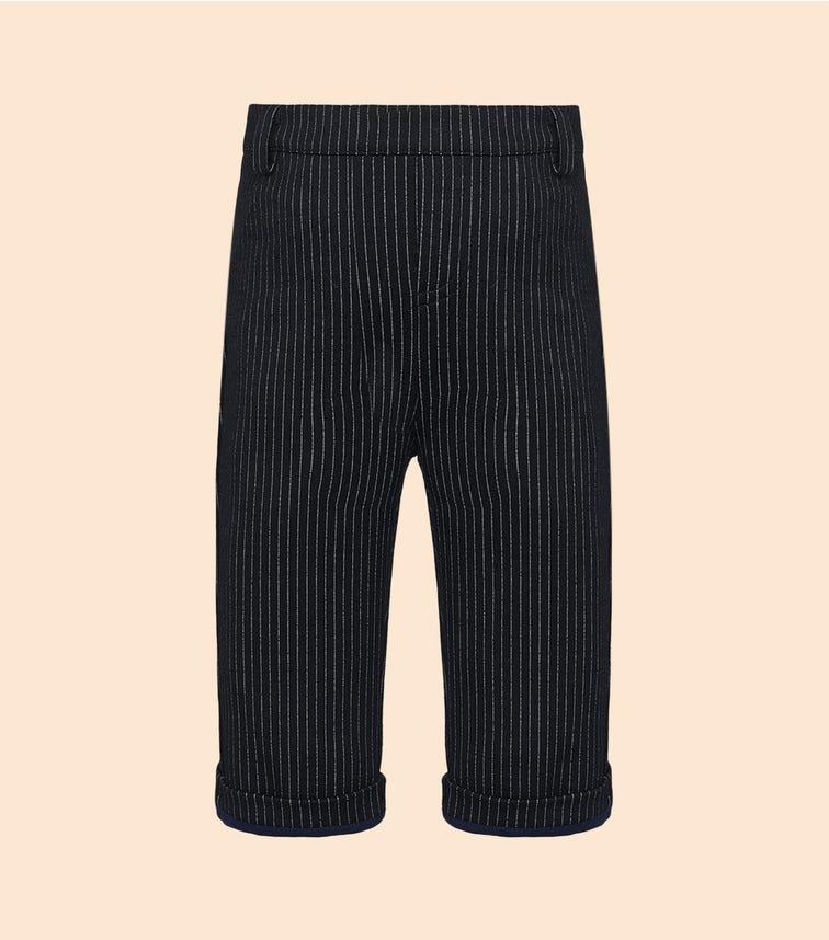 CHOUPETTE Soft Striped Trousers